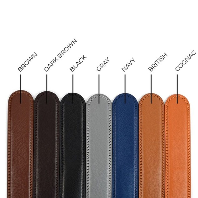 """46"""" Cut To Size Belt Strap For Auto-Lock Sliding Buckles - Strap Only"""