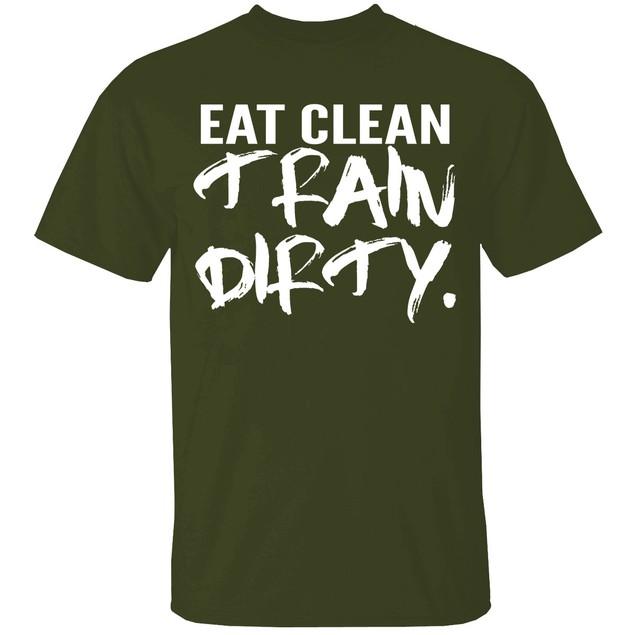 TrainDirty Short Sleeve Crew Neck Graphic Tshirt