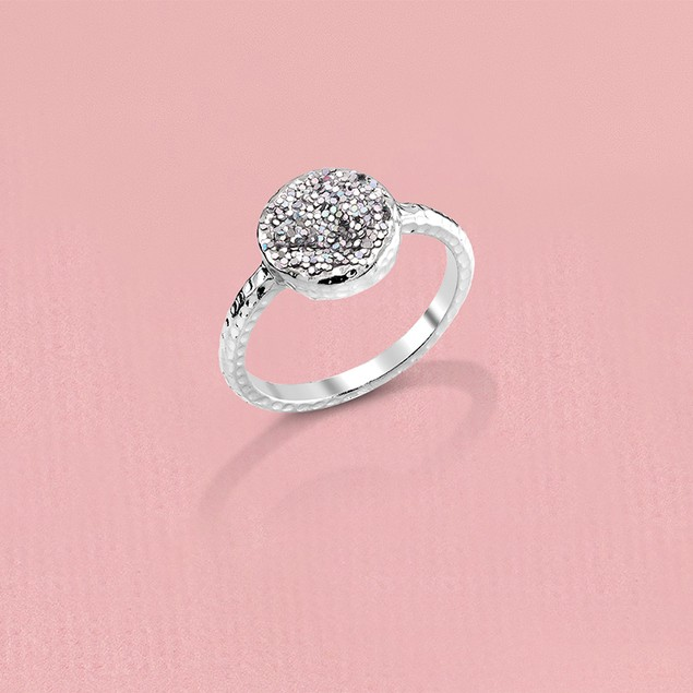 Genuine Druzy Ring