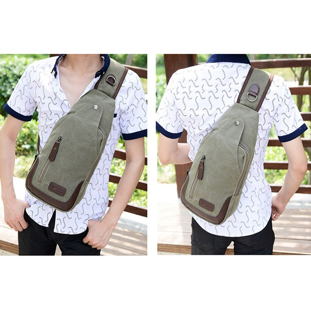 Valencia Canvas Shoulder Sling Bag