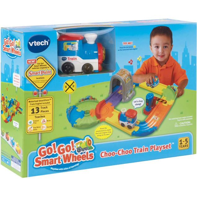 Go! Go! Smart Wheels Choo-Choo Train Playset