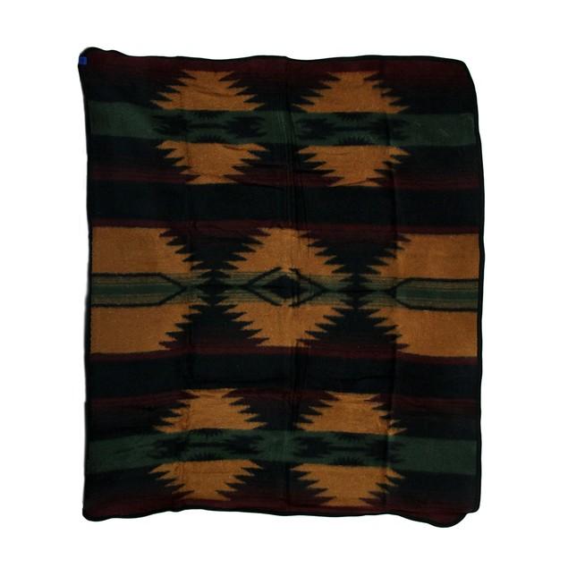 Plush Fleece Zapotec Throw Blanket 50 X 60 In. Throw Blankets