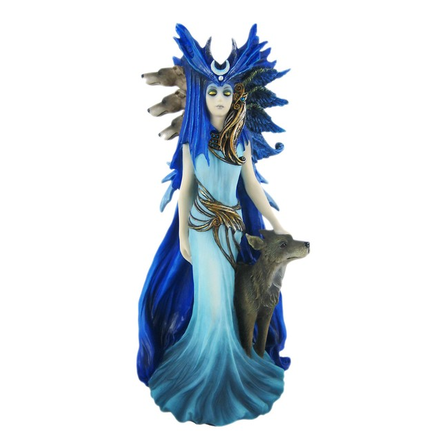 Anne Stokes Hekate Statue Wicca Nemesis Now Statues