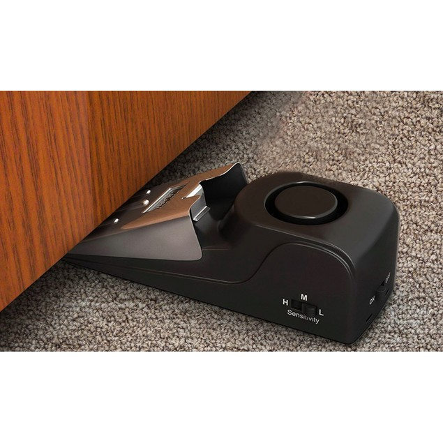 Personal Safety Door Stop Alarm (1 or 2-Pack)