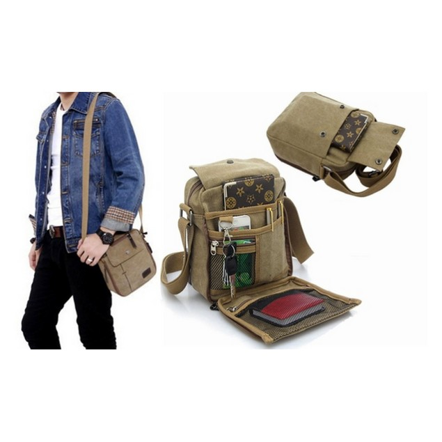 Valencia Multifunctional Canvas Traveling Bag - 3 Colors