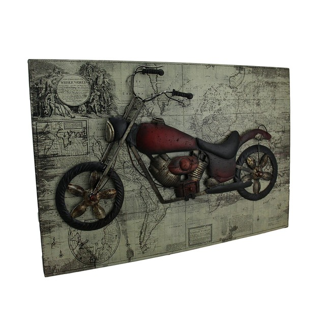 World Of Adventure Vintage V-Twin Motorcycle Prints