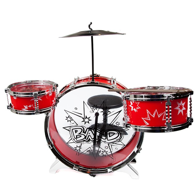 8 Piece Drum Set