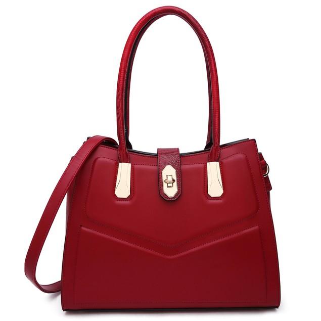 MKF Collection Posh Satchel Bag by Mia k
