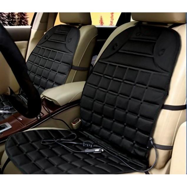 Zone Tech 2-Pack 12V Heated Car Seat Cushion