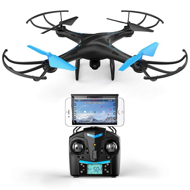 Quadcopter Drone w/ HD Camera with VR Headset Compatibility