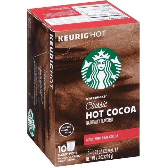 Starbucks Hot Cocoa Classic Keurig K-Cups
