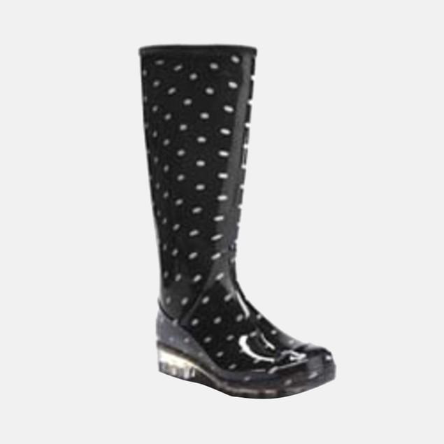 Henry Ferrera Women's Polka Dot Rain Boots