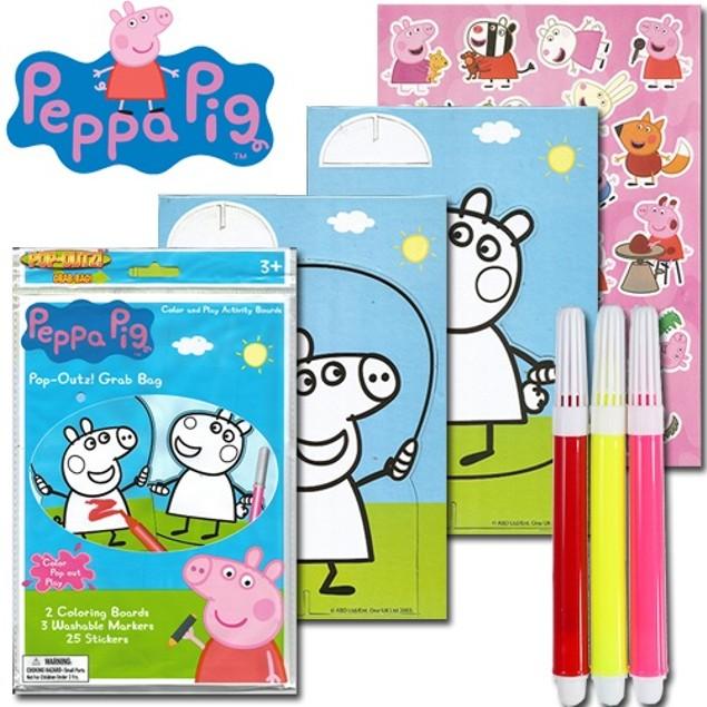 3-Pack Nickelodeon's Peppa Pig Pop-Outz Grab Bags
