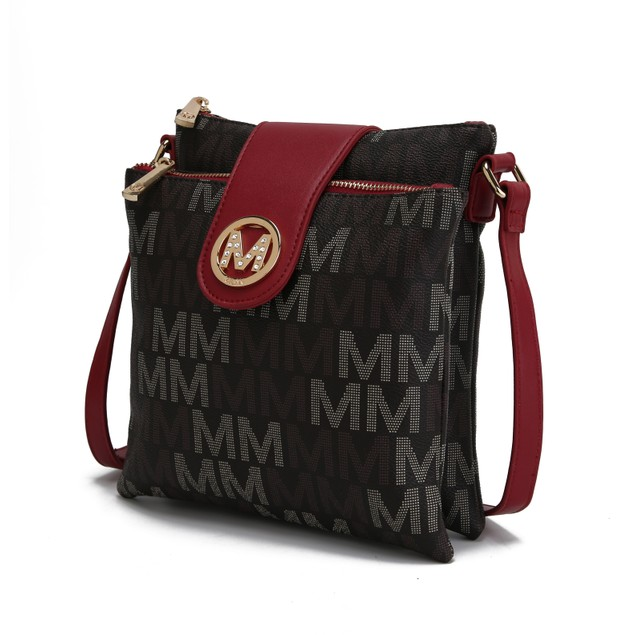 MKF Collection Nadien Milan M Signature Crossbody Bag by Mia K.