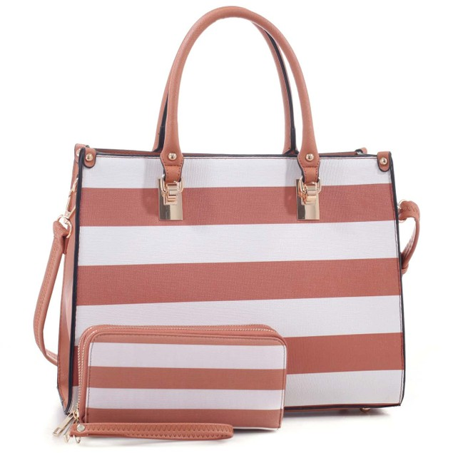 MKF Collection Aviva Satchel and Wallet Set