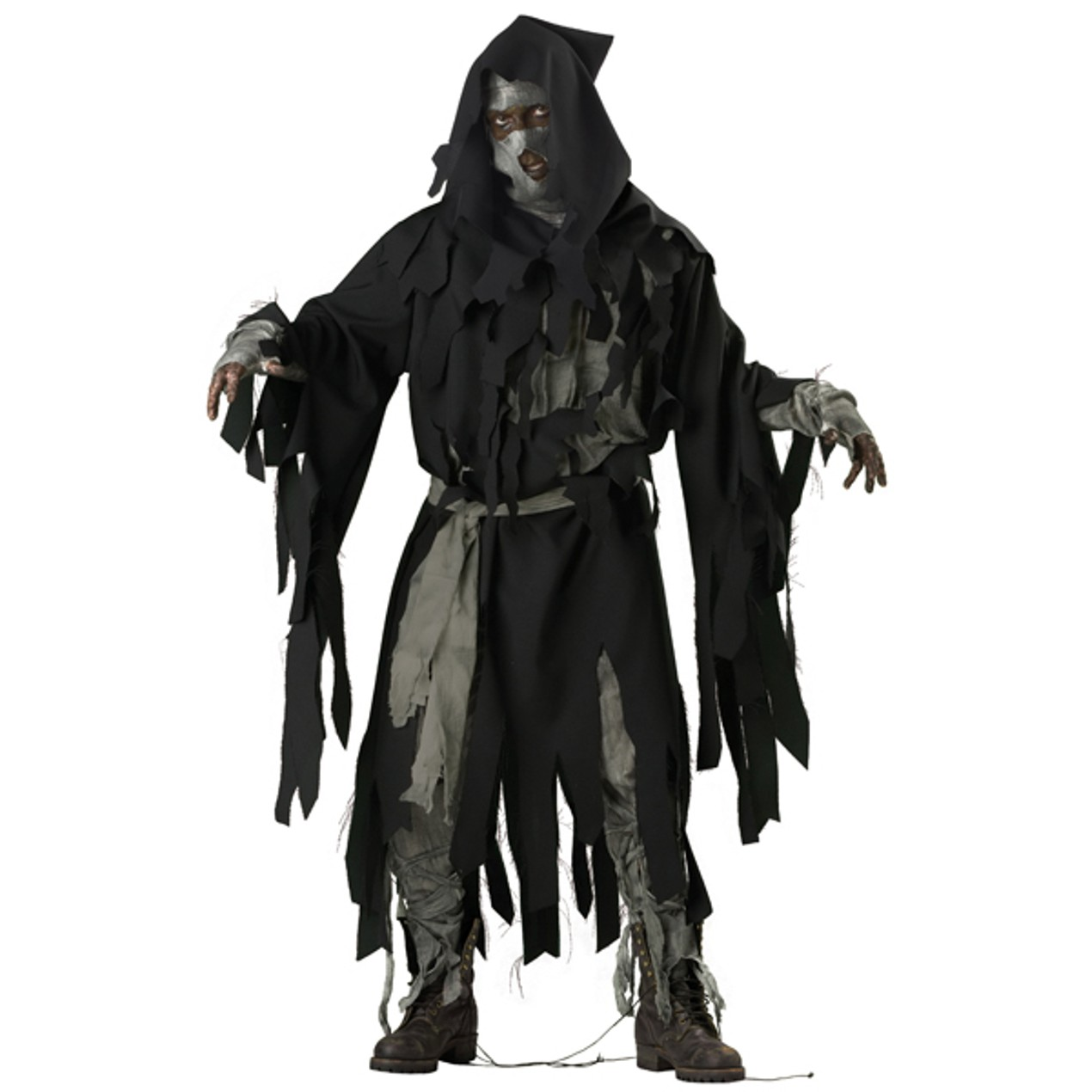 adult mens deluxe ghoul halloween costume size medium