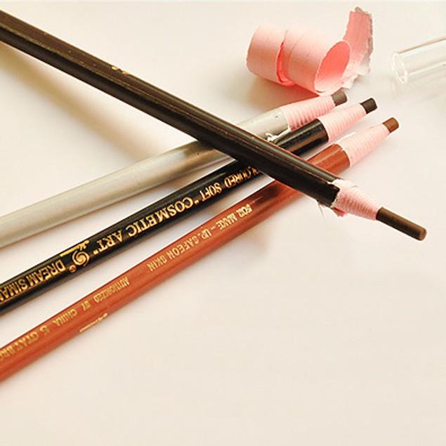 4-Pack Eyebrow Pencil Waterproof Long Lasting Eyebrow Liner