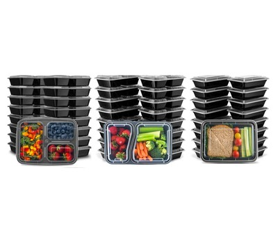 Meal Prep and Food Storage Containers Was: $49.99 Now: $15.99.