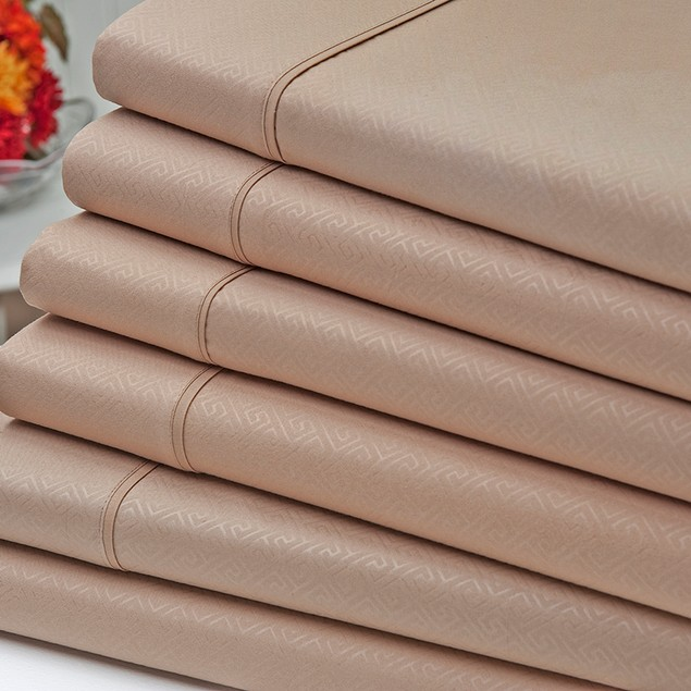 6-Piece Signature Collection 90GSM Embossed Microfiber Sheet Set