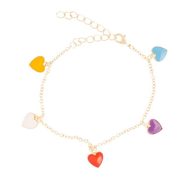 Girls Enamel Charm Bracelets - 6 Styles