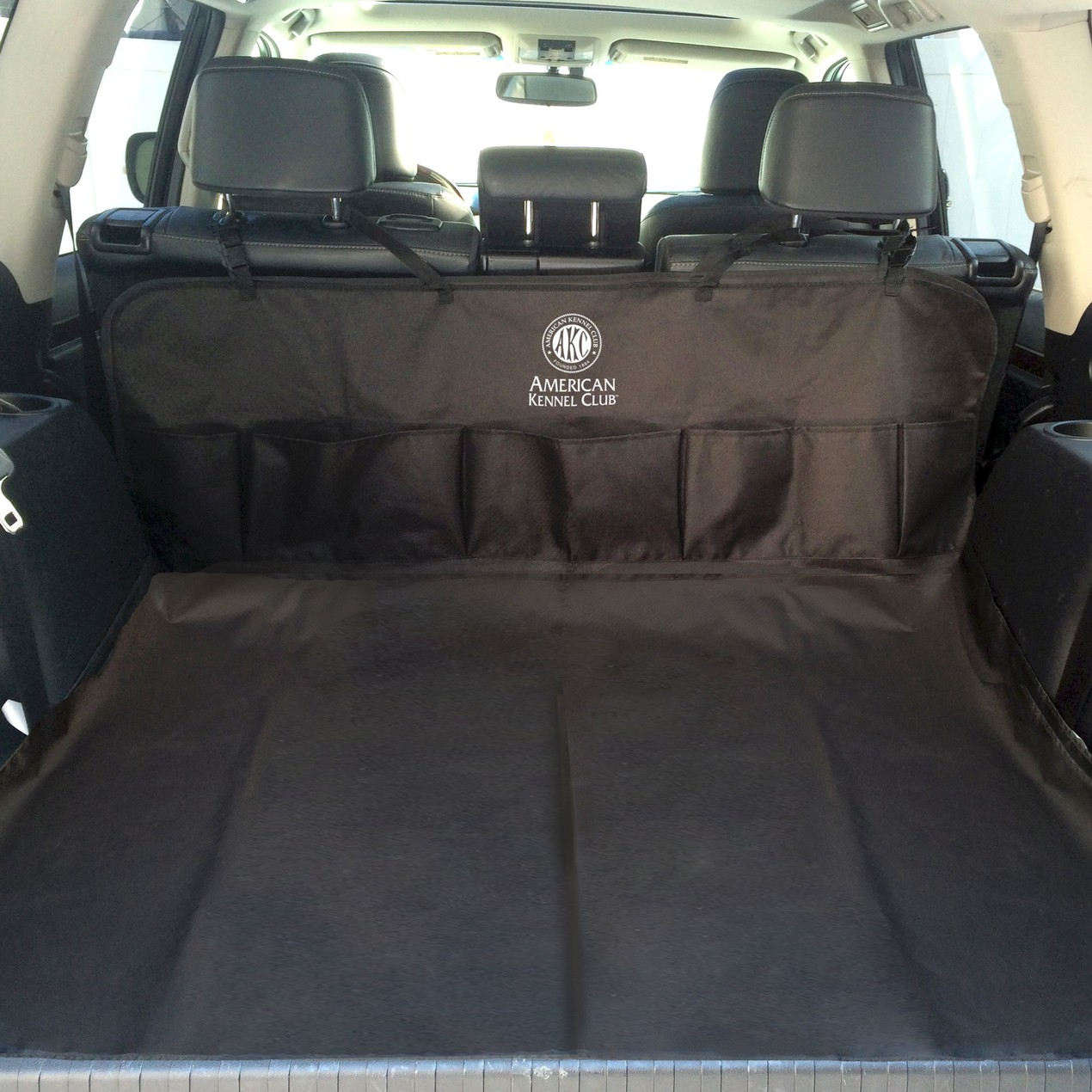 Fine Akc 5 Pocket Water Resistant Car Seat Pet Cover Tanga Alphanode Cool Chair Designs And Ideas Alphanodeonline