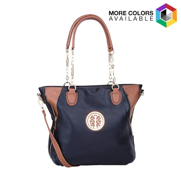 MKF Collection Jules Colorblock Tote by Mia K