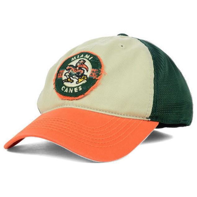 "Miami Hurricanes NCAA TOW ""Honors Flex"" Stretch Fitted Hat"