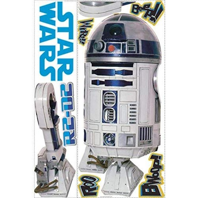 RoomMates Official Star Wars Classic Peel & Stick Giant Wall Decal 3 Styles