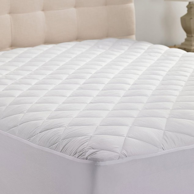 Hypoallergenic Durable & Comfortable Plush Fitted Mattress Pad