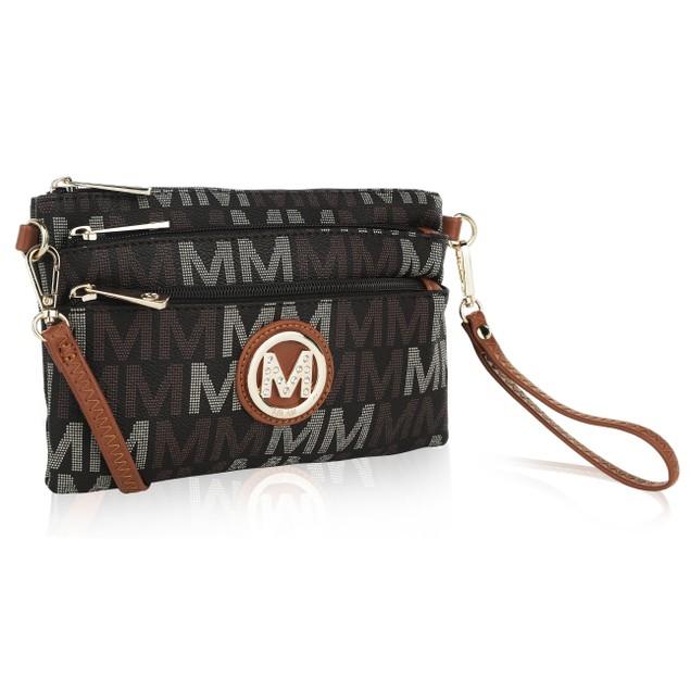 MKF Collection Zendaya Milan M Crossbody Wristle by Mia k.