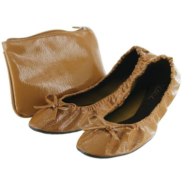 Sidekicks Women's Foldable Flats with Carrying Case