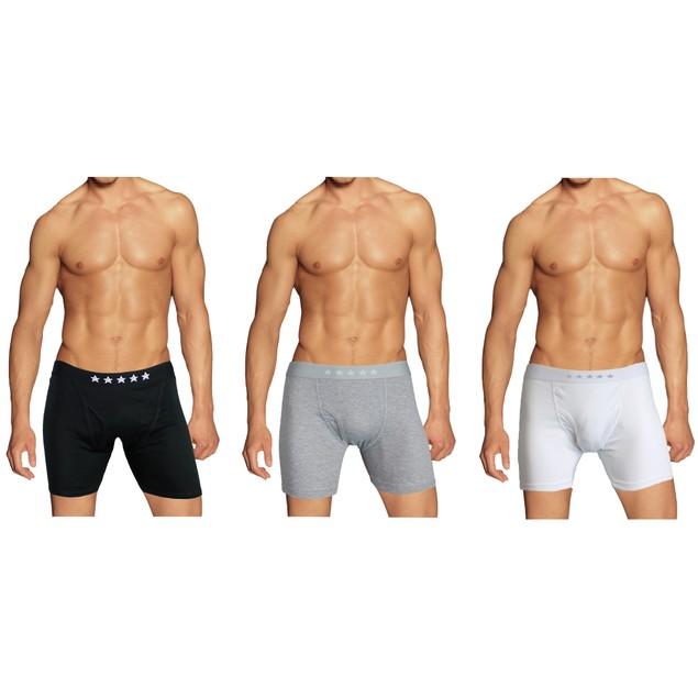 Men's Tagless Boxer Briefs - Multiple Pack Sizes