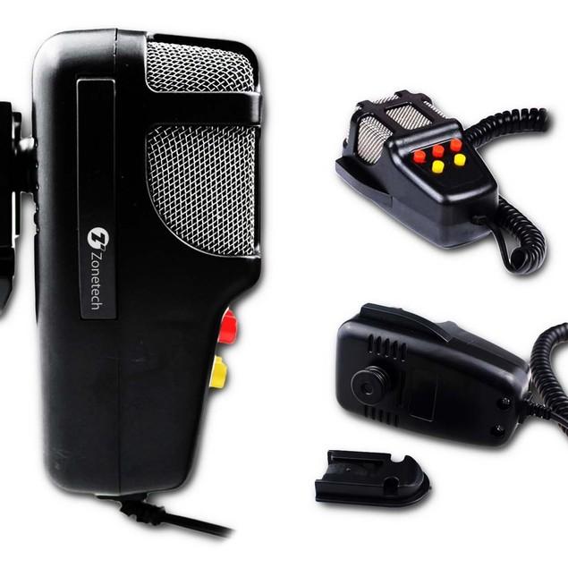 Zone Tech Super Loud Car Vehicle Five Tone 60W Police PA Air Horn Siren