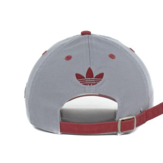 "Miami Heat NBA Adidas ""Script Slouch"" Adjustable Hat"