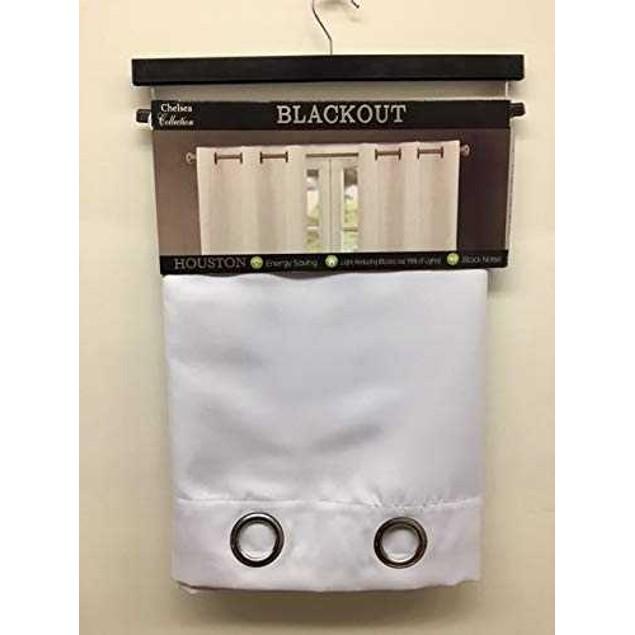 J&V Textiles Chelsea Houston Thermal Blackout Curtains (2-Panels)
