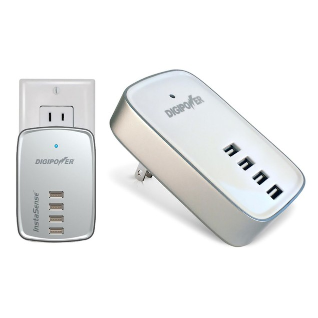 4 Port USB Charger with InstaSense Technology