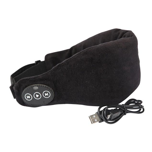 1 Voice Bluetooth Sleep Headphones Eye Mask