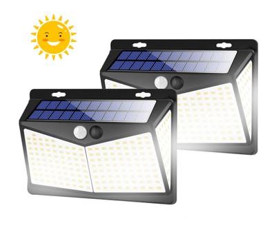 2-Pack Solar Lights Outdoors 208 LED/3 Modes, Security Motion Sensor Lights Was: $99.99 Now: $24.99.