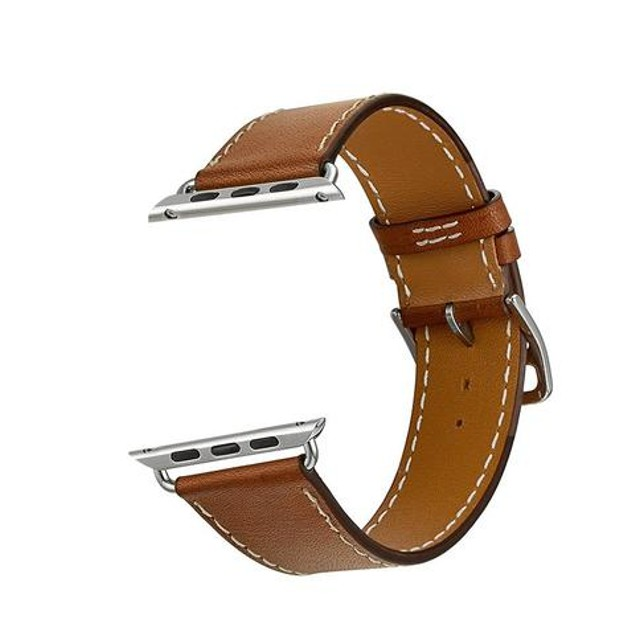 iPM Luxury Genuine Leather Watch Strap Replacement Band