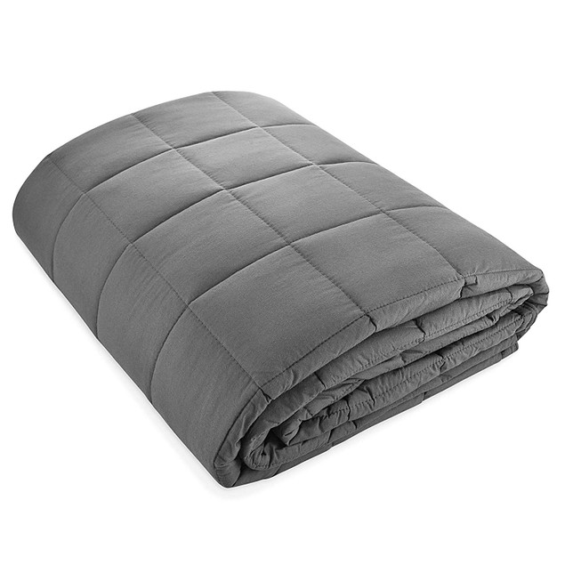"100% Cotton Weighted Blanket 48"" x 72"" (15 & 20 lbs)"