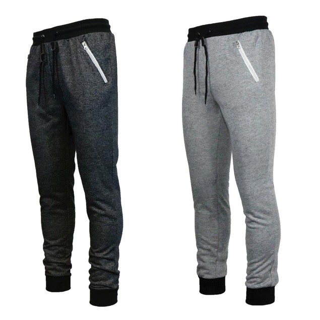 2-Pack Galaxy By Harvic Men's French Terry Joggers (S-2X)
