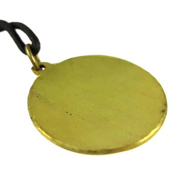 Brass Star Charm Medieval Fortune Talisman Pendant Mens Pendant Necklaces