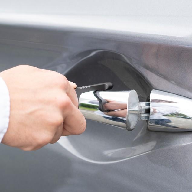 Touch-Free Door Opener Multi Purpose Keychain