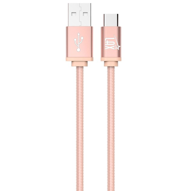 Type C USB Braided Cable Hi-Speed Charge Sync 3 ft and 6 Ft
