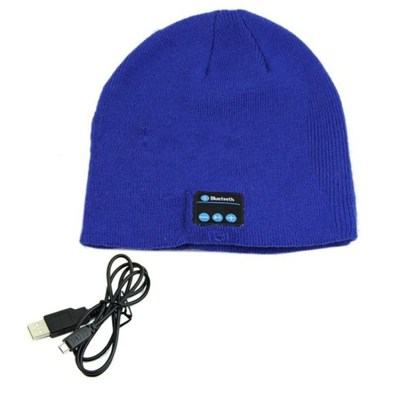 af210b7741f Wireless Bluetooth Beanie Hat with Built-in Headphones - Tanga