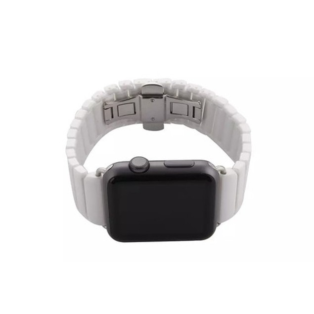 iPM Ceramic Link Band with Butterfly Closure for Apple Watch