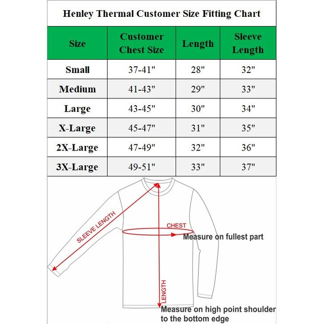 Galaxy by Harvic Men's Waffle-Knit Thermal Henley Tees