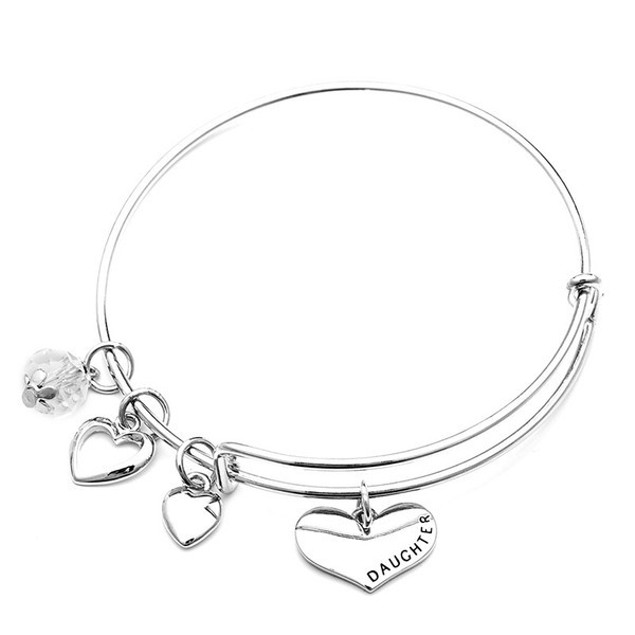 Mother & Daughter Charm Bangles