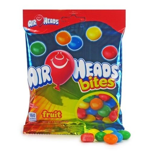 Airheads Bites Fruit Flavored Chewy Candy