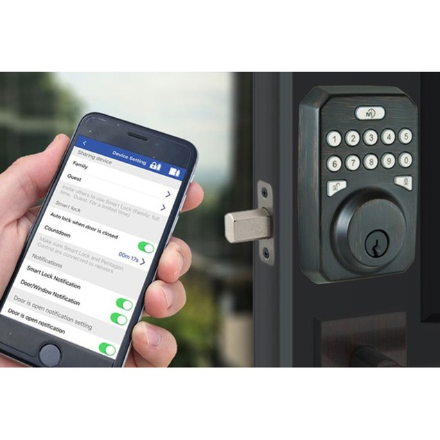 MiLocks Gen2 Smart Lock, Hub & Sensor Bundle